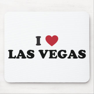 I Love Las Vegas Nevada Mouse Pad