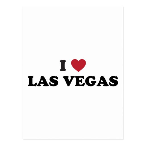 I Love Las Vegas Nevada Postcards