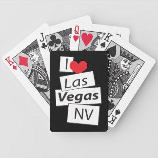I Love Las Vegas NV Bicycle Playing Cards