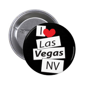 I Love Las Vegas NV Pinback Button