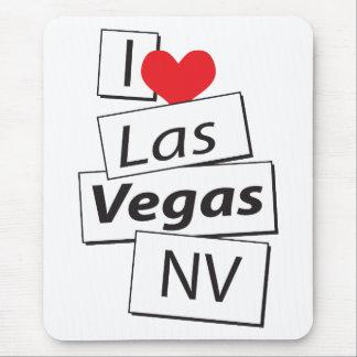 I Love Las Vegas NV Mouse Pad