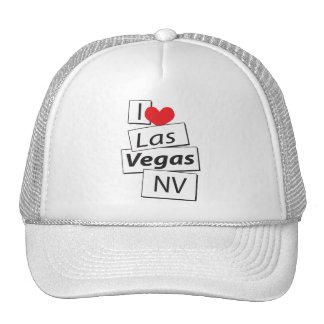 I Love Las Vegas NV Trucker Hat