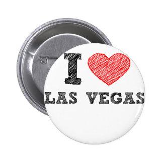 I Love Las Vegas Pinback Button