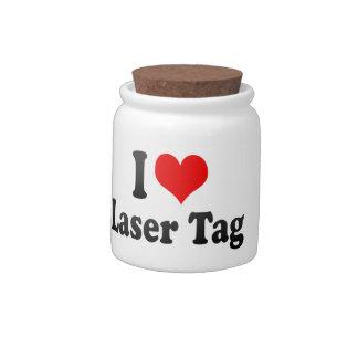 I love Laser Tag Candy Jar