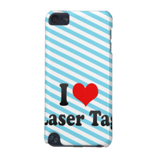I love Laser Tag iPod Touch 5G Cover