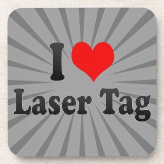 I love Laser Tag Beverage Coasters