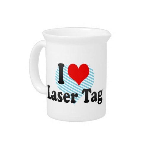 I love Laser Tag Drink Pitchers