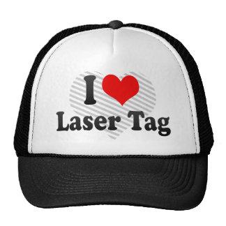 I love Laser Tag Hat