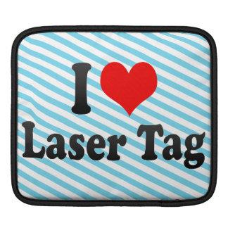 I love Laser Tag iPad Sleeves
