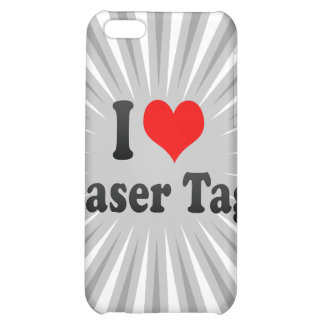 I love Laser Tag iPhone 5C Covers