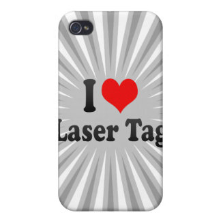 I love Laser Tag iPhone 4/4S Covers