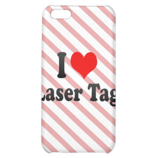 I love Laser Tag iPhone 5C Cover