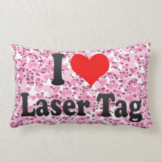 I love Laser Tag Pillow
