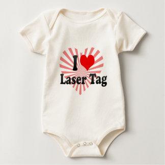 I love Laser Tag Romper