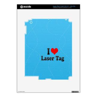 I love Laser Tag Skin For iPad 3
