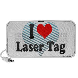 I love Laser Tag Mp3 Speakers