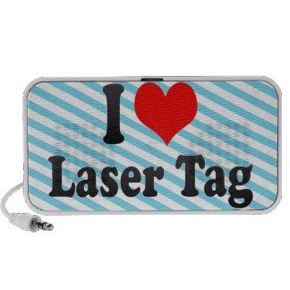 I love Laser Tag iPhone Speakers
