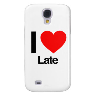 i love late galaxy s4 cases