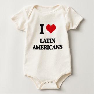 I Love Latin Americans Bodysuit