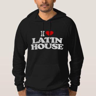 I LOVE LATIN HOUSE HOODIE