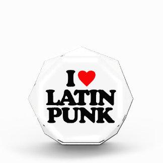I LOVE LATIN PUNK ACRYLIC AWARD