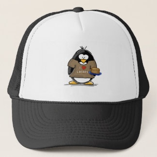 I Love Latkes Penguin Trucker Hat