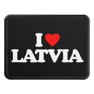 I LOVE LATVIA HITCH COVER