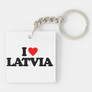 I LOVE LATVIA KEY CHAINS