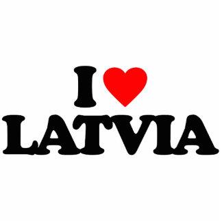 I LOVE LATVIA CUT OUT