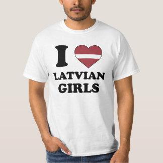 I love Latvian Girls T-Shirt