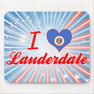 I Love Lauderdale, Minnesota Mouse Pad