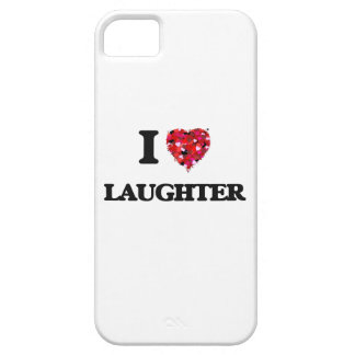 I Love Laughter iPhone 5 Covers
