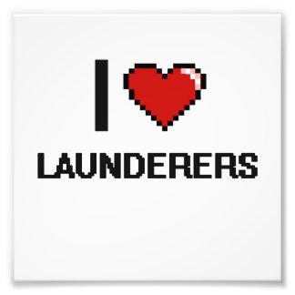 I love Launderers Photo Print