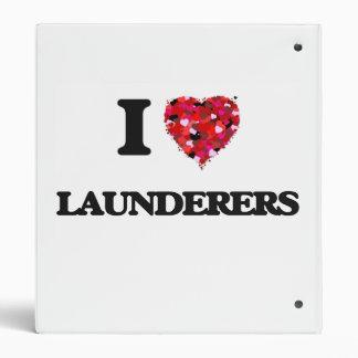 I love Launderers Vinyl Binder