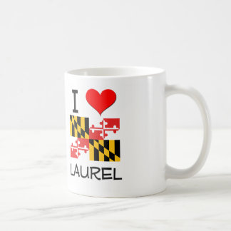 I Love Laurel Maryland Coffee Mug