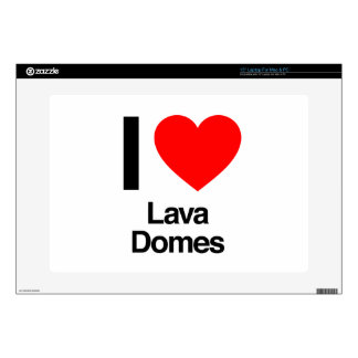 "i love lava domes 15"" laptop decal"