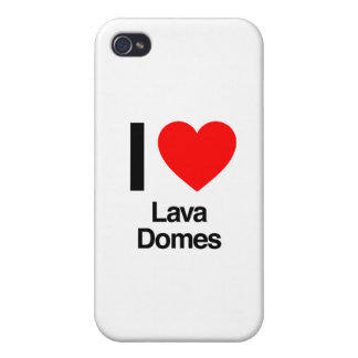 i love lava domes cover for iPhone 4