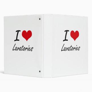 I Love Lavatories Binder