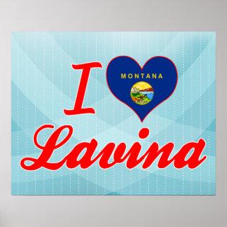 I Love Lavina, Montana Posters