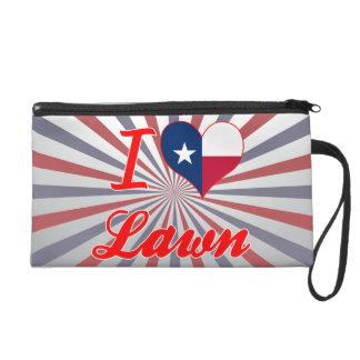 I Love Lawn Texas Wristlet