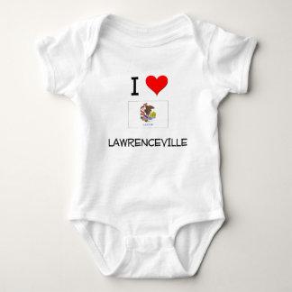 I Love LAWRENCEVILLE Illinois T-shirt