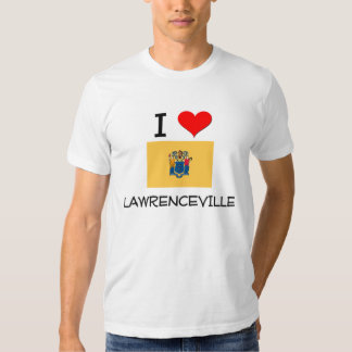 I Love Lawrenceville New Jersey T-shirt