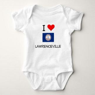I Love Lawrenceville Virginia T-shirts