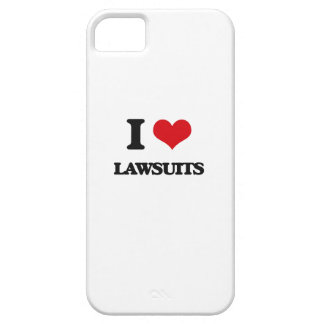 I Love Lawsuits iPhone 5 Covers