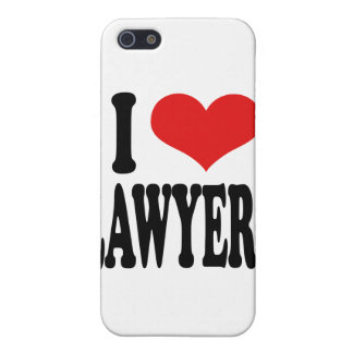 I Love Lawyers Case For iPhone 5/5S