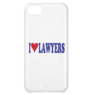 I Love Lawyers Case For iPhone 5C