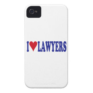 I Love Lawyers Case-Mate iPhone 4 Cases