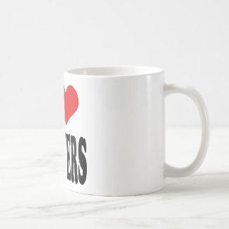I Love Lawyers Classic White Coffee Mug