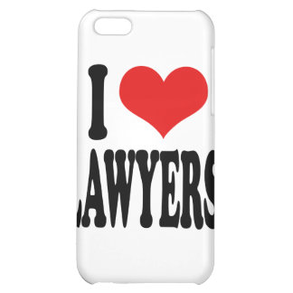 I Love Lawyers Cover For iPhone 5C