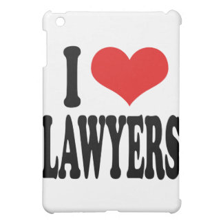 I Love Lawyers Cover For The iPad Mini
